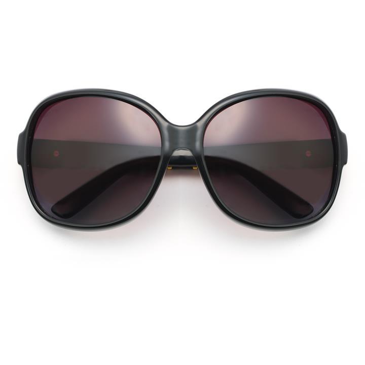 HAN时尚偏光太阳镜HD2916 黑框渐进茶片