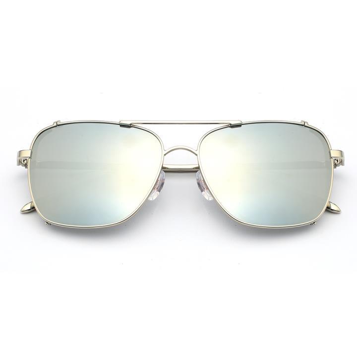 HAN RAZR-X9不锈钢偏光太阳眼镜-银框水银片(HN51200 C5)
