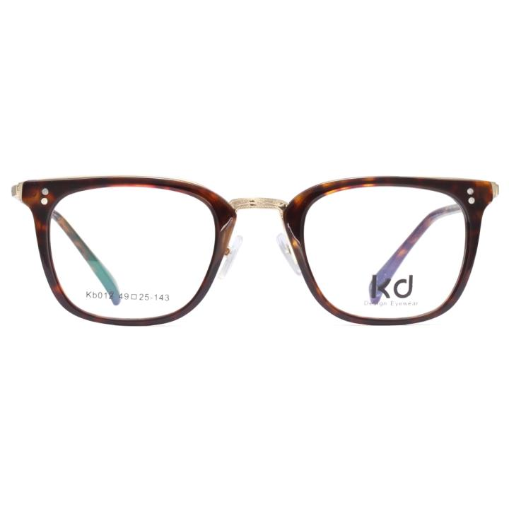 KD设计师手制板材金属眼镜kb012-C08