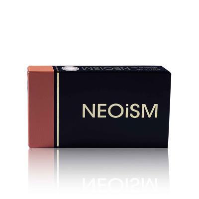 neoism口红款半年抛彩色隐形眼镜1片装L601灰