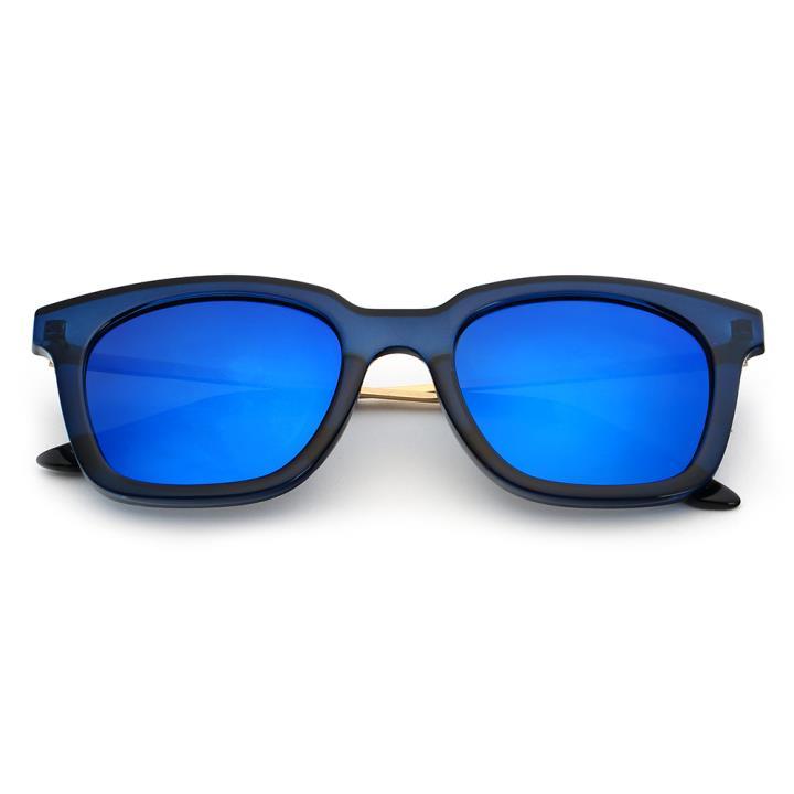 HAN时尚偏光太阳镜HD5806-S07 蓝框蓝色片