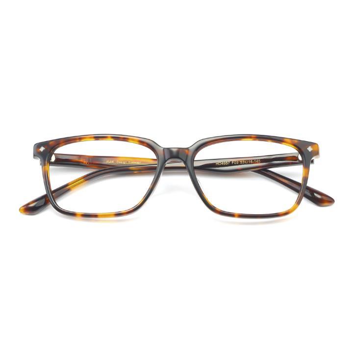 HAN板材光学眼镜架-复古玳瑁(HD4957-F03)