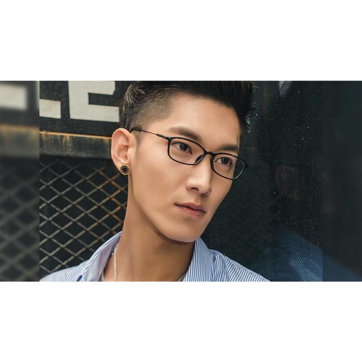 HAN时尚光学眼镜架HD4814-C3 酒红脚丝