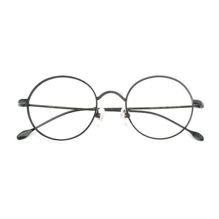 HAN合金光学眼镜架-经典纯黑(HN49361-C01)