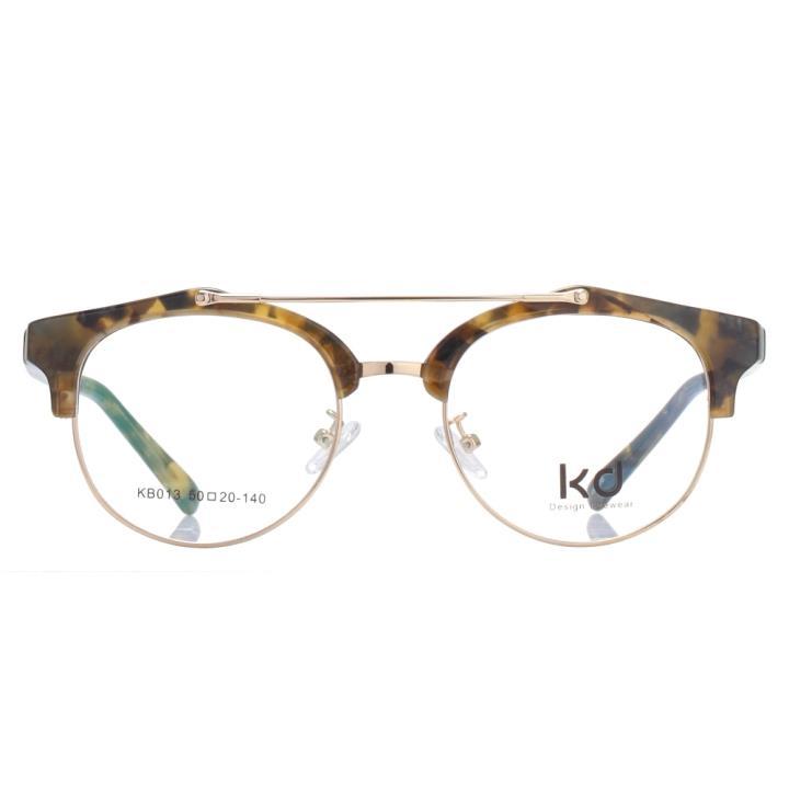 KD设计师手制金属板材眼镜kb013-C04