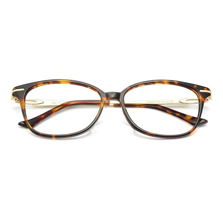 HAN板材金属光学眼镜架-优雅玳瑁(HD4952-F03)