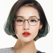 HAN時尚光學眼鏡架HD4839-F01 紅色黑框