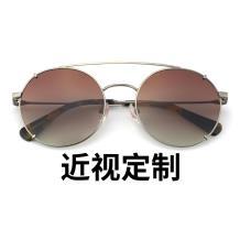 HAN SUNGLASSES不锈钢太阳眼镜架-银框(JK59318-C5)可配近视镜片
