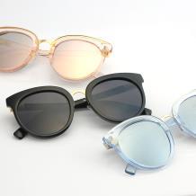 HAN SUNGLASSES PC防UV太阳眼镜-黑框灰片(HN55043 C3/M)