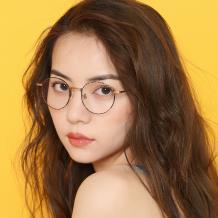 刘维同款  HAN纯钛光学眼镜-缤纷玳瑁(HN41122S-C02)(特价商品不参与满300-100HAN品牌券)