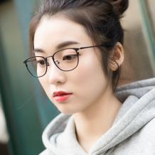 HAN纯钛光学眼镜架-小码(HN3312A-F01)小脸适用