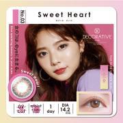 Decorative Eyes UVM美妆彩片日抛10片装-SweetHeart