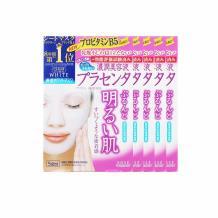 KOSE/高丝 胎盘素渗透保湿美白面膜 5片装 海淘专享