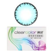 可丽博Clearcolor曦彩隐形眼镜半年抛2片装-冰清蓝CV23