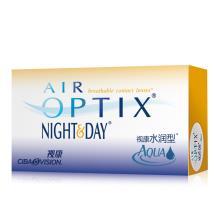 愛爾康視康水潤日夜型硅水凝膠月拋隱形眼鏡3片裝(新老包裝隨機發)