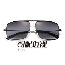 HAN不锈钢光学眼镜架-深枪色近视框(JK5905-C3)