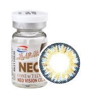 NEO蒽伊傲彩色隐形眼镜年抛一片装S5-4三色蓝