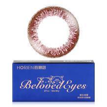 海俪恩萌生宠爱彩色隐形眼镜月抛2片装-甜晶虹棕