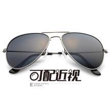 HAN不锈钢太阳眼镜架-枪框(JK59312-C1)
