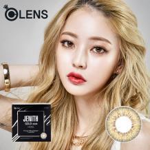 O-LENS隐形眼镜JENITH 彩色双周抛4片装-三色金褐