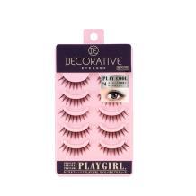 妆美堂PlayGirl DE 5对装粉色上睫毛(Cool#4 知性成熟款)