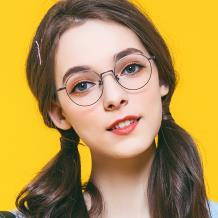 HAN COLLECTION纯钛光学眼镜架-神秘哑棕(HN41122S-C01)(特价商品不参与满300-100HAN品牌券)