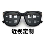 HAN SUNGLASSES太阳眼镜架HD5809-C31 黑框