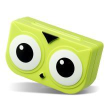 猫头鹰隐形眼镜伴侣盒(表面有较大瑕疵 介意者勿拍)