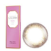 日本LALISH领丽秀彩色美瞳日抛10片装-神秘自然棕