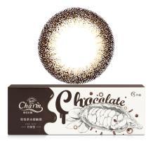 诺思魅眸巧克力美妆彩瞳日抛5片装棕CH-1 黑巧克力