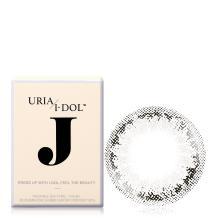 I-DOL J系列彩色隐形眼镜年抛1片装-Tear Gray