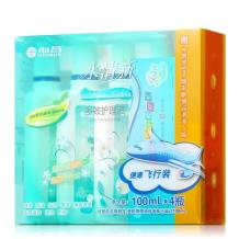 海昌水清新隐形眼镜多效护理液100ml*4瓶+润眼液5ml
