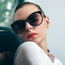 HAN SUNGLASSES防UV太阳眼镜HN55065M C1/M 黑框深灰片