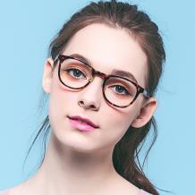 HAN COLLECTION板材光学眼镜架-(时尚玳瑁HN42049 C2/M)