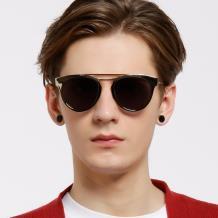 HAN RAZR-X9防UV太阳眼镜-金框灰色片(HD59207-S09)