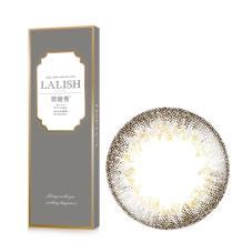 日本LALISH领丽秀彩色美瞳日抛10片装-可丽儿灰