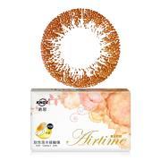 诺思Airtime摩登女郎美妆彩瞳月抛3片装G3-04-奶茶棕(旧包装随机发货)
