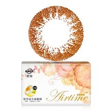 诺思Airtime摩登女郎美妆彩瞳月抛3片装G3-04-奶茶棕(仅有100.125.150度)