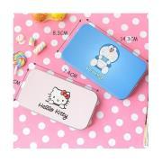 Hello kitty/哆啦A梦可爱彩妆化妆刷铁盒装随机发货(活动专享)