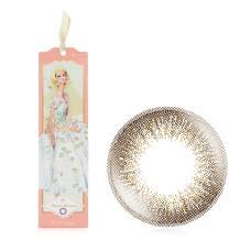妆美堂Barbie芭比双周抛彩色隐形眼镜6片装-梦境女王棕