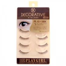 妆美堂PlayGirl DE 5对装米色上睫毛(Chic#3 天然知性款)