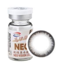 NEO蒽伊傲彩色隐形眼镜年抛一片装S3-1自然黑