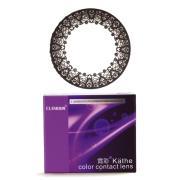 科莱博霓彩蕾丝彩色隐形眼镜双周抛2片装-黑色