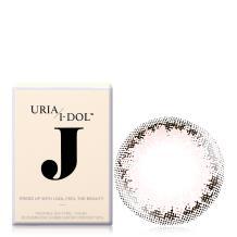 I-DOL J系列彩色隐形眼镜年抛1片装-Lilac Pink