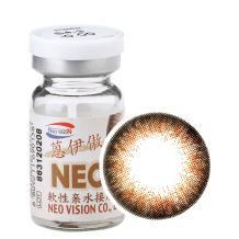 NEO蒽伊傲彩色隐形眼镜年抛一片装S4-3巨目棕