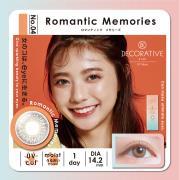 Decorative Eyes UVM美妆彩片日抛10片装-RomanticMemories