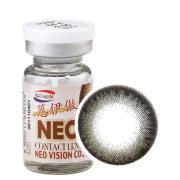 NEO蒽伊傲彩色隐形眼镜年抛一片装S4-4巨目灰