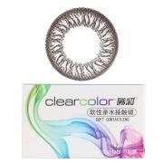 可丽博Clearcolor曦彩隐形眼镜半年抛2片装-炫动黑B14