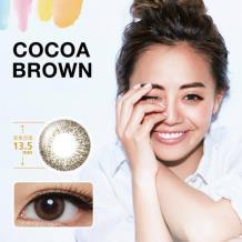 新视野Select Fairy妃妮严选彩色月抛1片装-Cocoa Brown