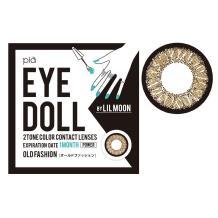EYE DOLL BY LILMOON彩色隱形眼鏡 月拋1片裝-OLD FASHION